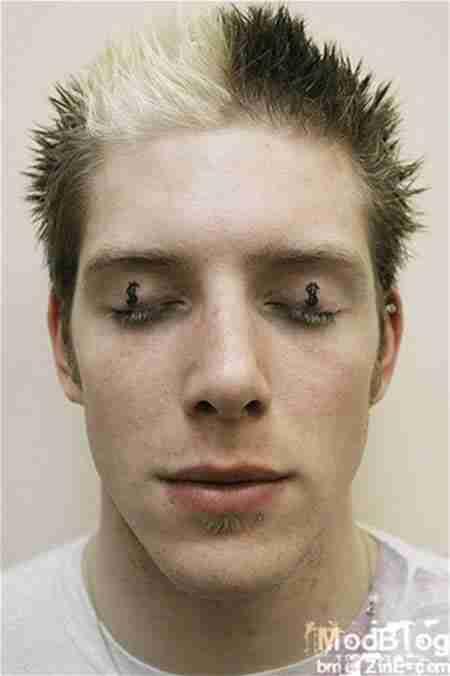 Τα πιο ανατριχιαστικά τατουάζ ματιών
