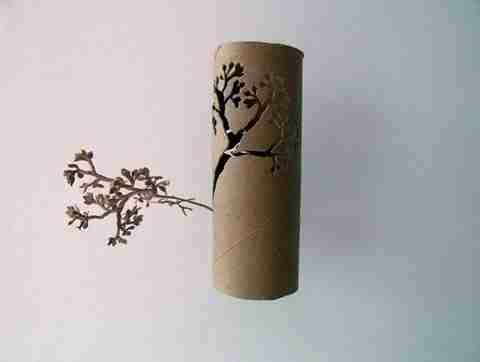 Τέχνη από χαρτί τουαλέτας