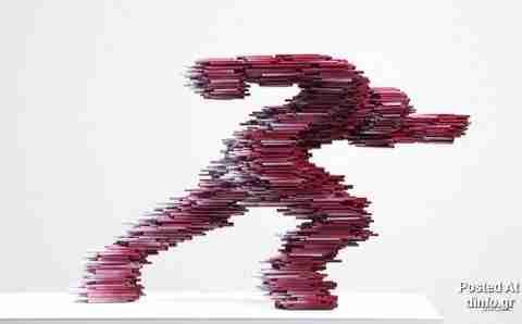 Τα κινούμενα γλυπτά του Kang Duck-Bong