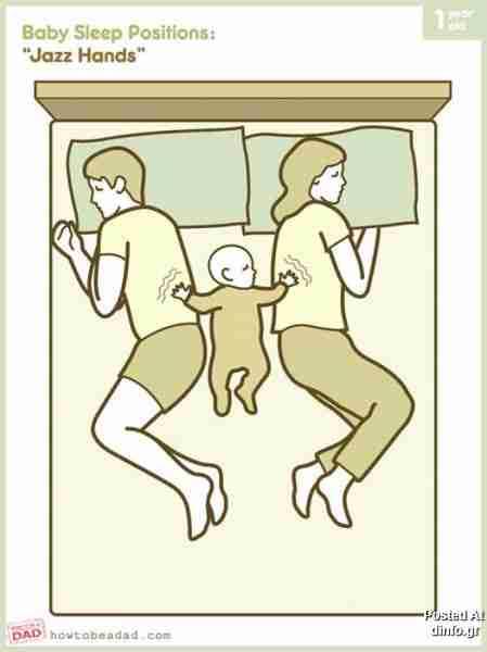 Μαμπάς, μαμά και το μωρό στην μέση..