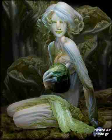 Η Lady Gaga από.. λαχανικά