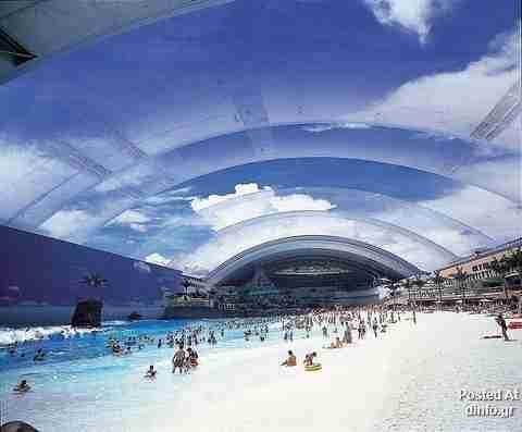Η μεγαλύτερη τεχνητή παραλία στον κόσμο
