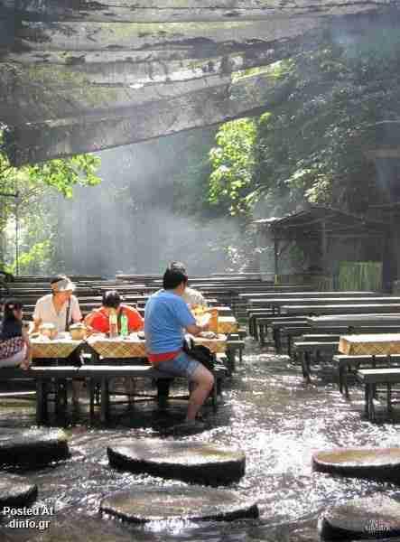 Το εστιατόριο με τους καταρράκτες