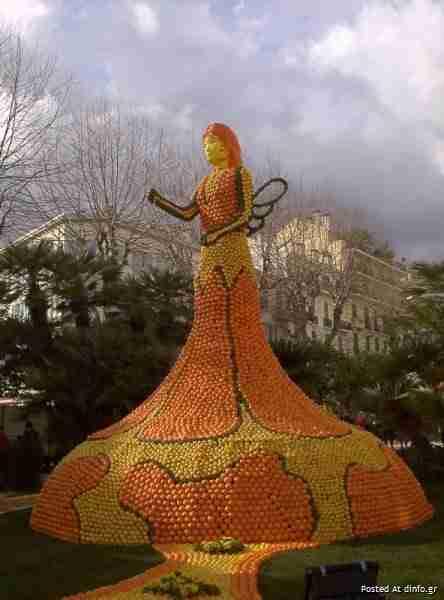 Το φεστιβάλ λεμονιού στο Menton