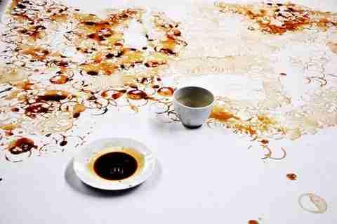 Πορτραίτο από λεκέδες καφέ - dinfo.gr