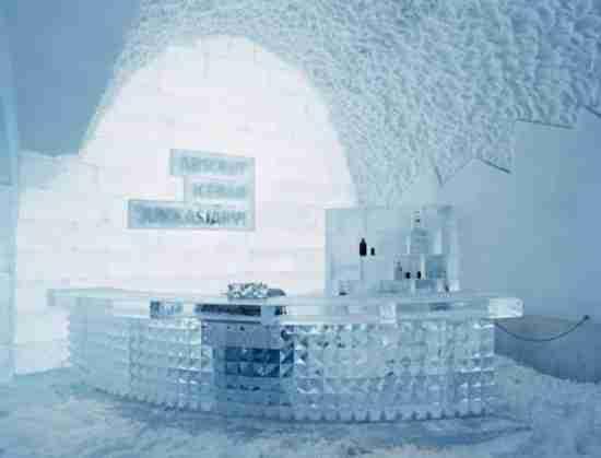 Το μεγαλύτερο ξενοδοχείο από πάγο