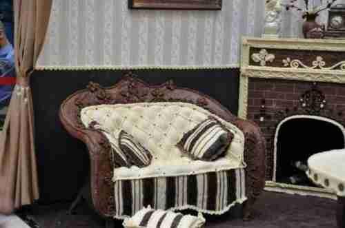 Δωμάτιο κατασκευασμένο από σοκολάτα