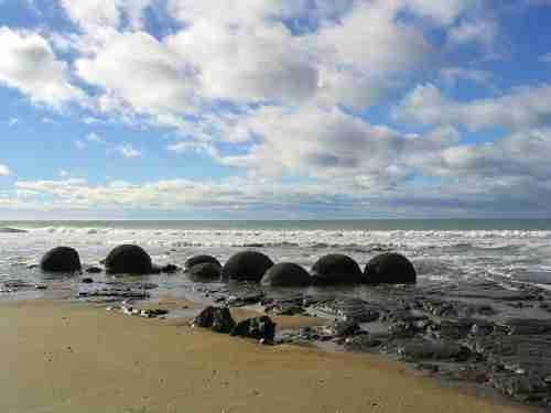 Οι μυστηριώδεις ογκόλιθοι Moeraki