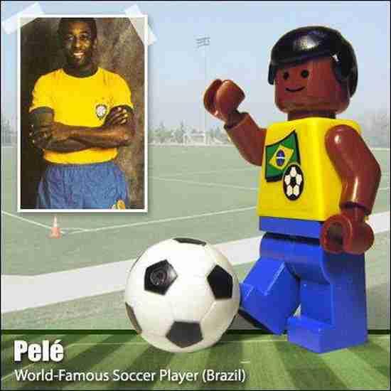 Διάσημες φιγούρες από τουβλάκια LEGO