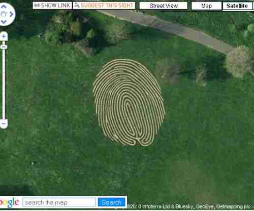 World's Largest Fingerprint