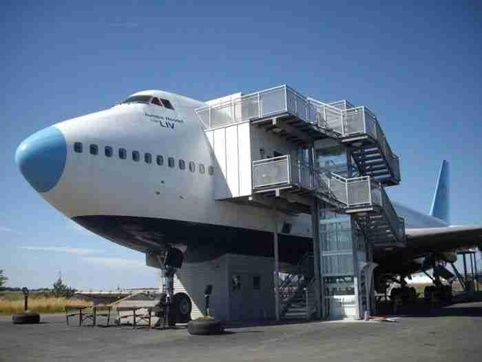 Από αεροπλάνο.. ξενοδοχείο!