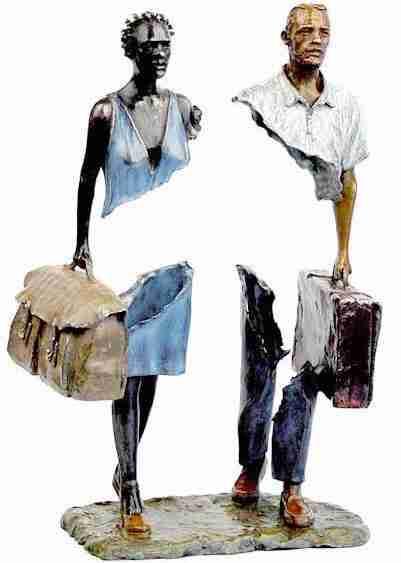 """Οι """"παράξενοι ταξιδιώτες"""" του Μπρούνο Καταλάνο"""