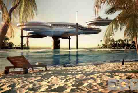 Ξενοδοχείο 10 μέτρα κάτω από την θάλασσα