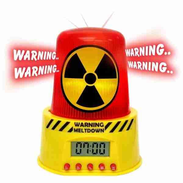 Ρολόι ξυπνητήρι πυρηνική έκρηξη