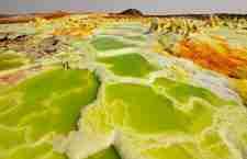 Dallol - Ο πιο παράξενος ηφαιστειακός κρατήρας του κόσμου