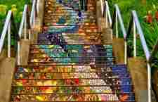 Τα υπέροχα σκαλοπάτια του Σαν Φρανσίσκο