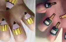 Δημιουργική τέχνη νυχιών της Kayleigh O'Connor