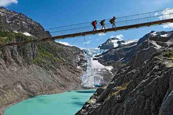 Γέφυρα Trift, η μεγαλύτερη αλλά και η ψηλότερη γέφυρα πεζών
