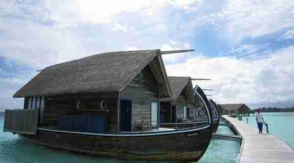 diaforetiko.gr : Boat Hotel at Cocoa Island Maldives 2 Ένα εκπληκτικό ξενοδοχείο πάνω σε βάρκες, στις Μαλδίβες!!!!