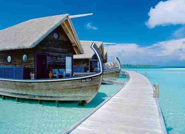 diaforetiko.gr : Boat Hotel at Cocoa Island Maldives 3 Ένα εκπληκτικό ξενοδοχείο πάνω σε βάρκες, στις Μαλδίβες!!!!
