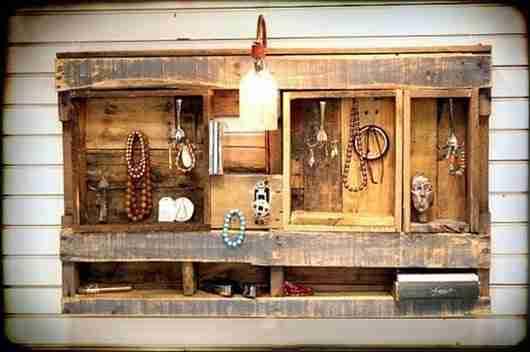 Κατασκευάστε όμορφα έπιπλα από παλιές παλέτες