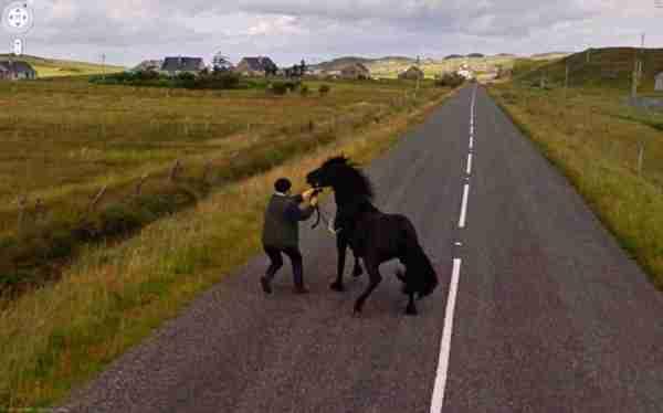 30 αστείες και παράξενες φωτογραφίες από το Google Street