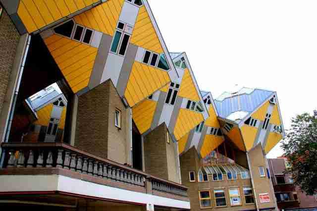 Τα σπίτια - κύβοι στην Ολλανδία