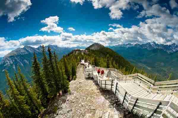 Το βουνό Sulphur στον Καναδά