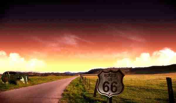 Ο δρόμος 66 στην Αριζόνα