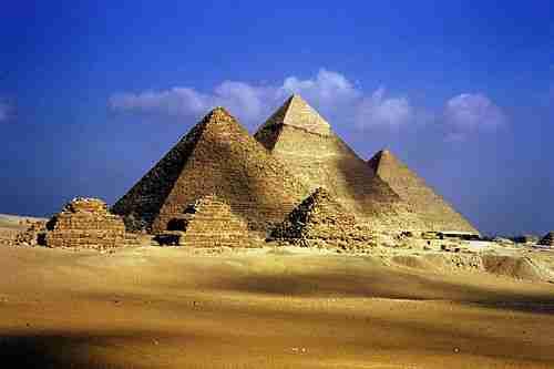 Μεγάλη Πυραμίδα, Γκίζα, Αίγυπτος