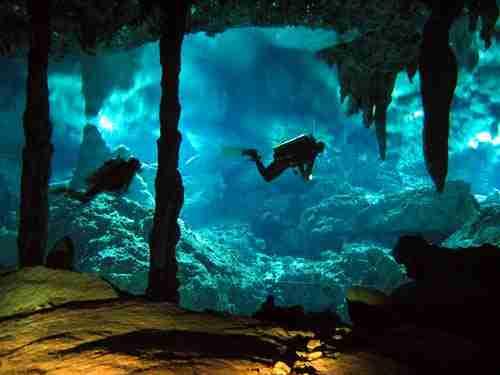 Σπήλαια του Οικολογικού Πάρκου Άκτουν Τσεν, Γιουκατάν, Μεξικό