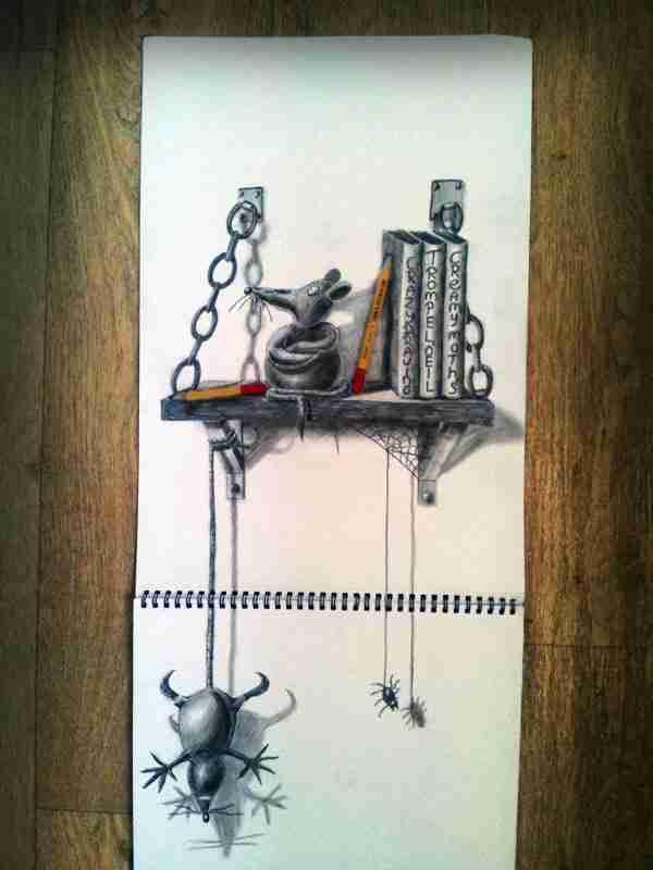 Τα εκπληκτικά τρισδιάστατα σχέδια του Ramon Bruin