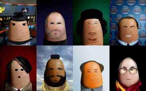 Διάσημα πορτραίτα ζωγραφισμένα στα δάχτυλα
