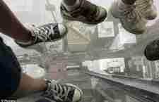 Βόλτα στα 412 μέτρα πάνω από το έδαφος με γυάλινο ασανσέρ