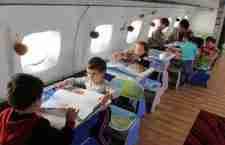 Από αεροπλάνο.. νηπιαγωγείο!