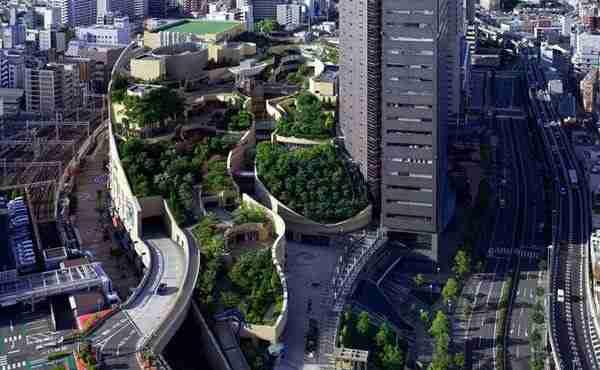Πάρκο στην κορυφή κτιρίου 30 ορόφων