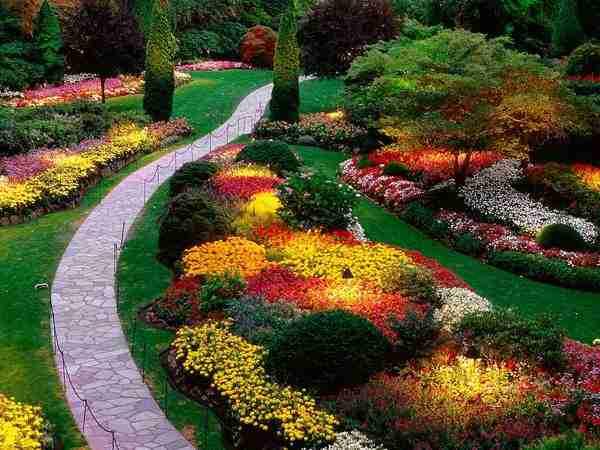 Οι υπέροχοι κήποι Butchart στον Καναδά
