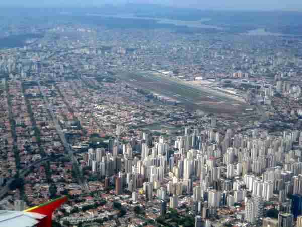 Αεροδρόμιο Congonhas, Σάο Παόλο, Βραζιλία