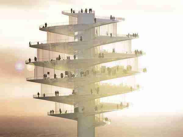 Ο 131 μέτρων πύργος παρατήρησης της Αριζόνα