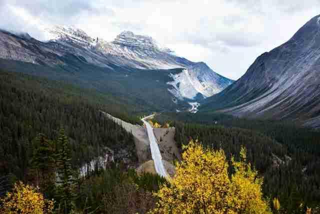 Icefields Parkway, Καναδάς