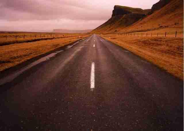 N Highway 1, Ισλανδία