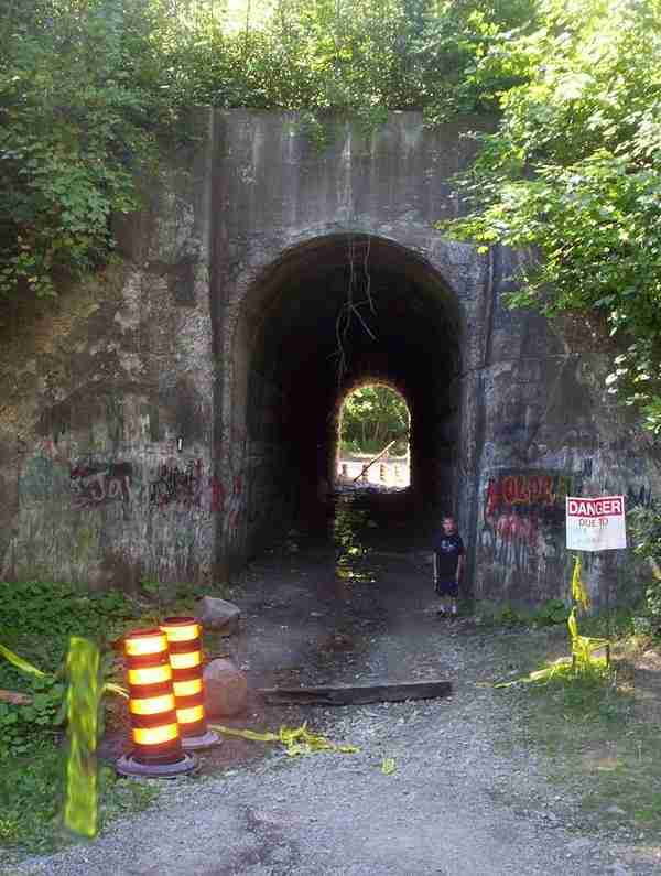 Το στοιχειωμένο τούνελ στον Καναδά