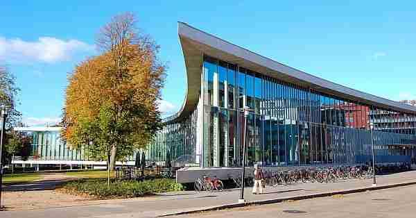 Halmstad Library.