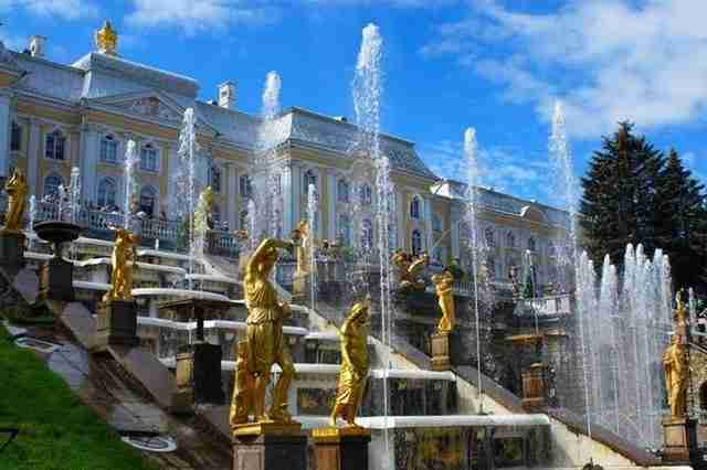 The Grand Cascade – Saint Petersburg, Russia
