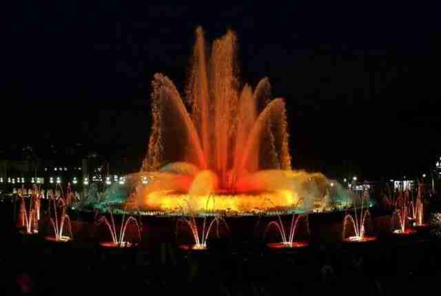 The Magic Fountain of Montjuic – Barcelona, Spain