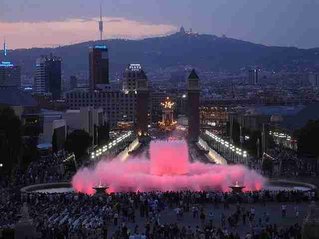 The Magic Fountain of Montjuic – Barcelona, Spain2