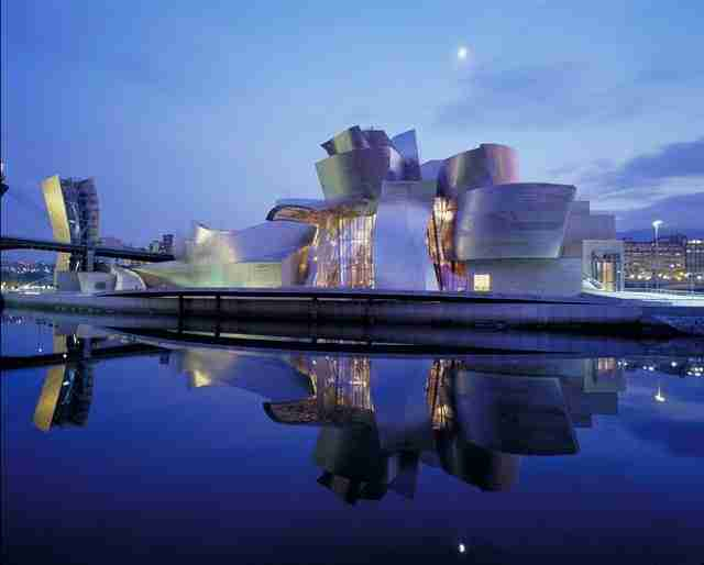 Το εντυπωσιακό Μουσείο Guggenheim στο Μπιλμπάο