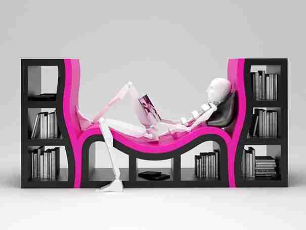Console Bookshelves