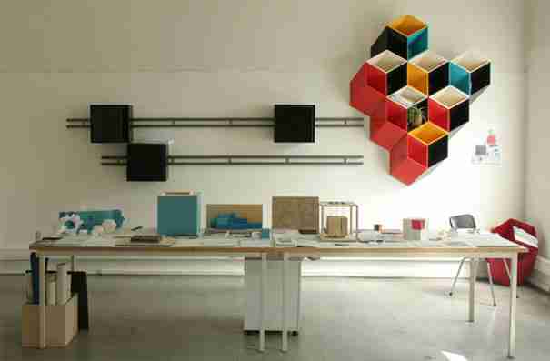 Second And a Half Dimension Shelves 2