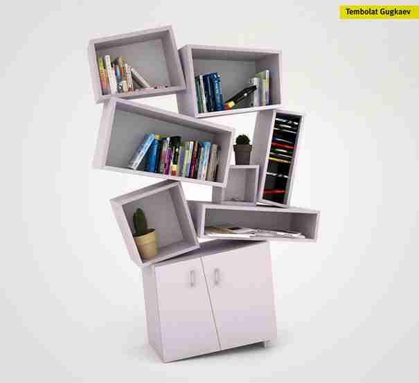 Tectonic Bookcase